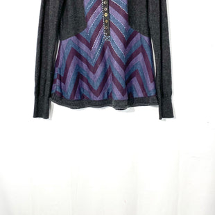 Primary Photo - BRAND: FREE PEOPLE STYLE: SWEATER LIGHTWEIGHT COLOR: MULTI GREYSIZE: S SKU: 262-26275-6696657% COTTON24% WOOL