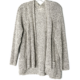 Primary Photo - BRAND: EILEEN FISHER STYLE: SWEATER CARDIGAN LIGHTWEIGHT COLOR: GREY WHITE SIZE: 2X SKU: 262-26241-47914100% COTTONDESIGNER FINAL
