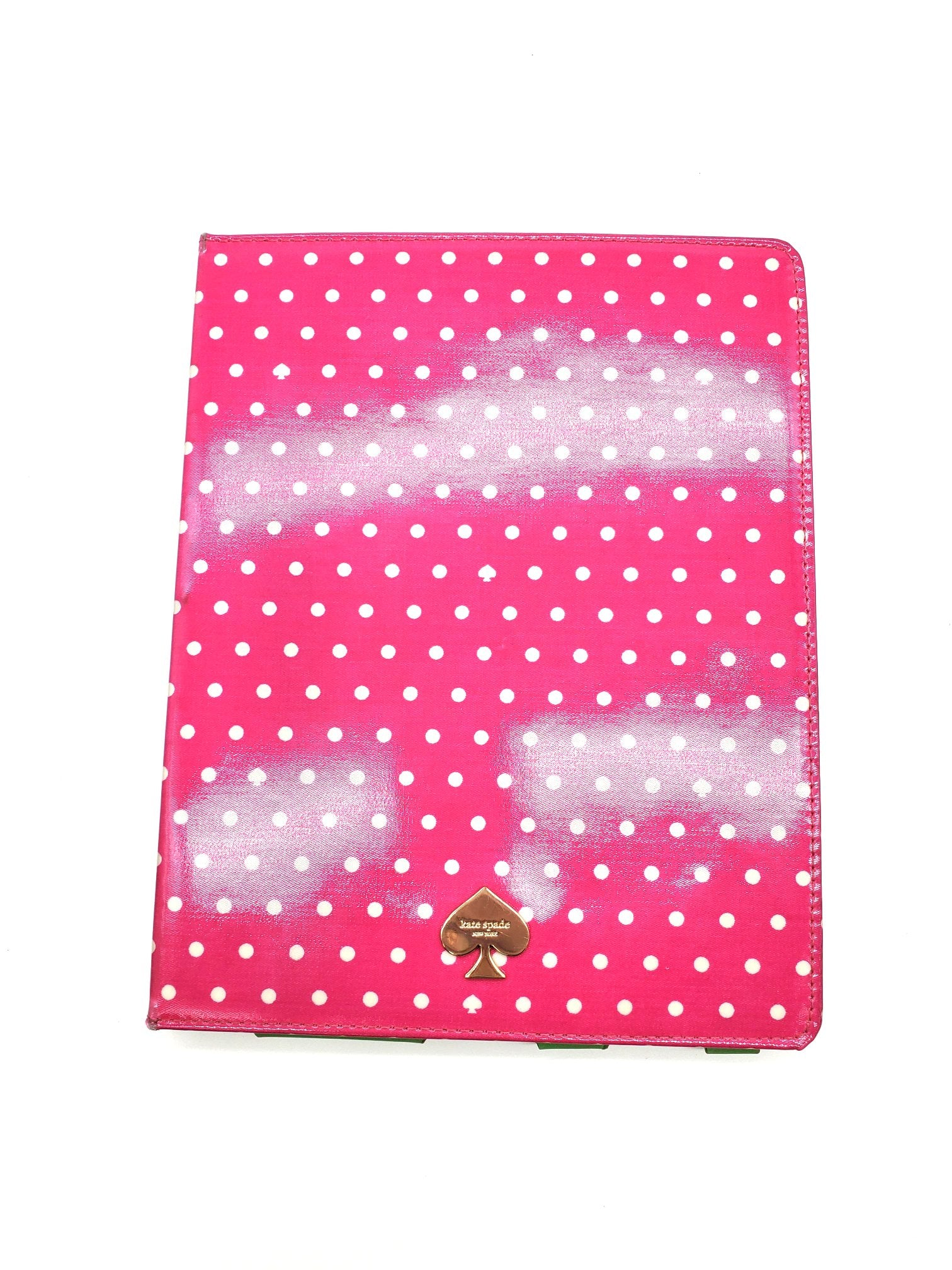 Primary Photo - BRAND: KATE SPADE <BR>STYLE: IPAD CASE<BR>COLOR: POLKADOT <BR>SKU: 262-26275-63873R<BR>AS IS <BR>DESIGNER ITEM FINAL SALE