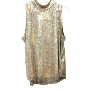 Primary Photo - BRAND: ANTHROPOLOGIE STYLE: TOP SLEEVELESS COLOR: GOLD SIZE: L SKU: 262-262101-3260
