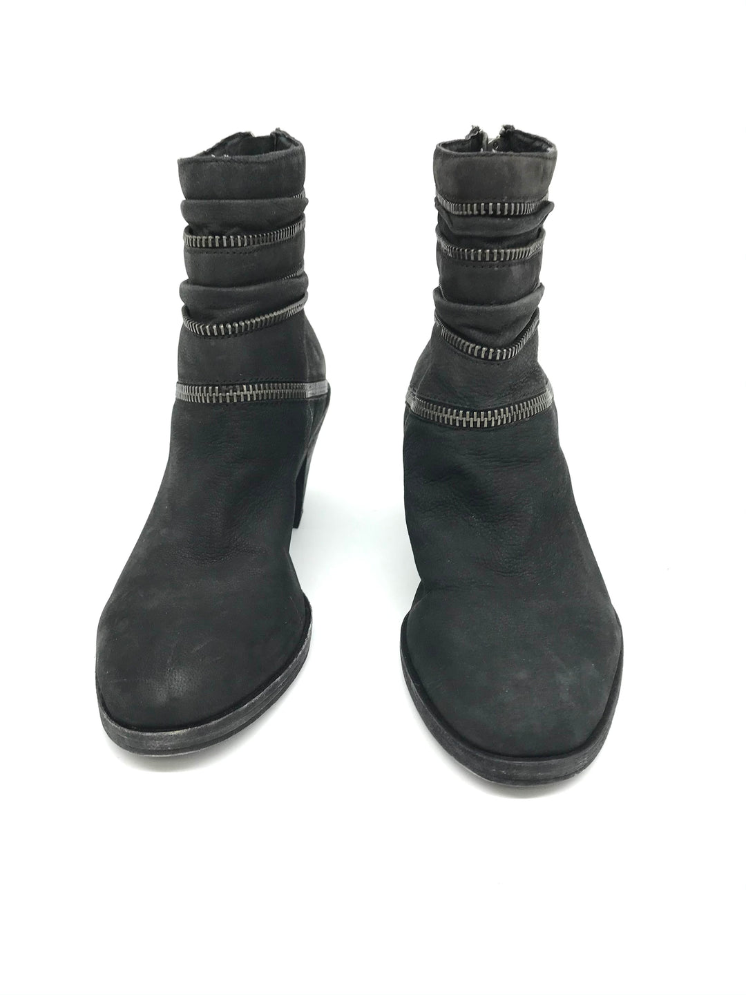Photo #2 - BRAND: EILEEN FISHER <BR>STYLE: BOOTS ANKLE <BR>COLOR: GREY <BR>SIZE: 5.5 <BR>SKU: 262-26275-71613<BR>AS IS GENTLE WEAR <BR>DESIGNER BRAND FINAL SALE