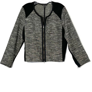 Primary Photo - BRAND: EILEEN FISHER STYLE: TOP LONG SLEEVE BLAZERCOLOR: BLACK WHITE SIZE: XL SKU: 262-26275-66792R