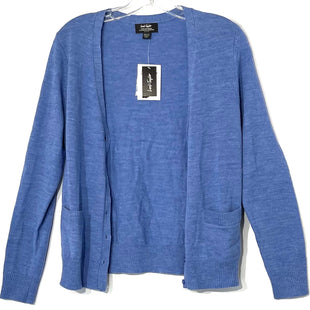 Primary Photo - BRAND: LORD AND TAYLOR STYLE: SWEATER CARDIGAN LIGHTWEIGHT COLOR: BLUE SIZE: S PETITESKU: 262-26275-71290100% EXTRA FINE WOOL