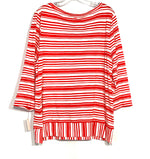 Photo #1 - BRAND: TALBOTS <BR>STYLE: TOP LONG SLEEVE <BR>COLOR: STRIPED <BR>SIZE: XL <BR>SKU: 262-26275-65464<BR><BR>PIT TO HEM 18.5""