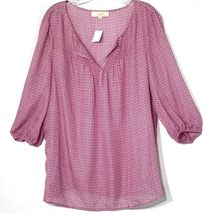 Primary Photo - BRAND: ANN TAYLOR LOFT STYLE: BLOUSE COLOR: GEOMETRIC SIZE: XL SKU: 262-26211-138820