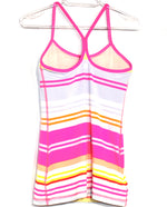 Photo #1 - BRAND: LULULEMON <BR>STYLE: ATHLETIC TANK TOP <BR>COLOR: STRIPED <BR>SIZE: 6 <BR>SKU: 262-26275-62463<BR><BR>SIZE TAG MISSING AS <BR>DESIGNER FINAL <BR>GENTLE WEAR AS IS