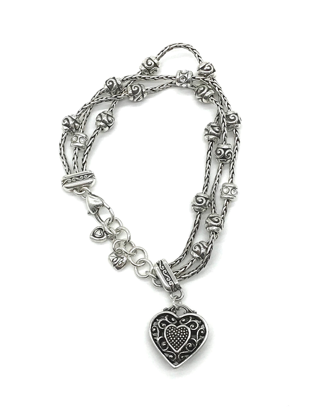 Primary Photo - BRAND: BRIGHTON <BR>STYLE: BRACELET <BR>COLOR: HEART <BR>SKU: 262-26275-64675<BR><BR>FITS APPROX. SMALL - MEDIUM SIZE WRIST. THANK YOU!