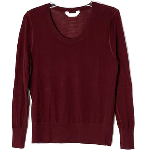 Primary Photo - BRAND:    EVERLANESTYLE: SWEATER LIGHTWEIGHT COLOR: BURGUNDY SIZE: M OTHER INFO: EVERLANE - SKU: 262-26211-144382100% WOOL