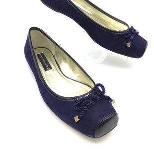Primary Photo - BRAND: STEVE MADDEN STYLE: SHOES FLATS COLOR: NAVY SIZE: 8 SKU: 262-26275-69118AS IS
