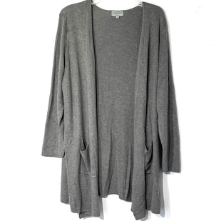 Primary Photo - BRAND: JOSEPH A STYLE: SWEATER CARDIGAN LIGHTWEIGHT COLOR: GREY SIZE: 3X SKU: 262-26211-143573