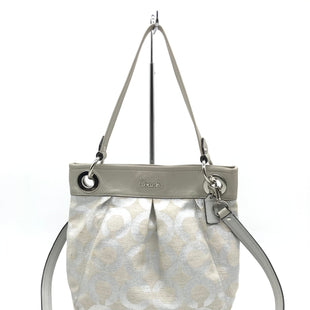 Primary Photo - BRAND: COACH STYLE: HANDBAG DESIGNER COLOR: SILVER SIZE: MEDIUM SKU: 262-26275-67584GENTLE WEAR - AS IS