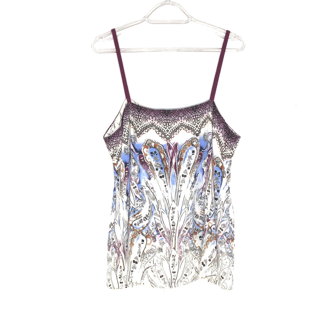 Photo #1 - BRAND: WHITE HOUSE BLACK MARKET <BR>STYLE: TOP SLEEVELESS <BR>COLOR: PAISLEY <BR>SIZE: M <BR>SKU: 262-26275-59150