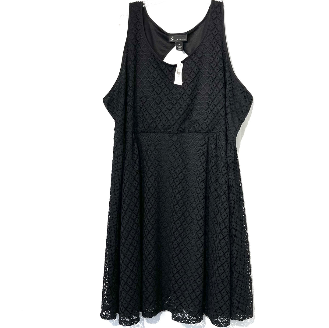 Primary Photo - BRAND: LANE BRYANT <BR>STYLE: DRESS SHORT SLEEVELESS <BR>COLOR: BLACK <BR>SIZE: 3X/28<BR>SKU: 262-26211-139630