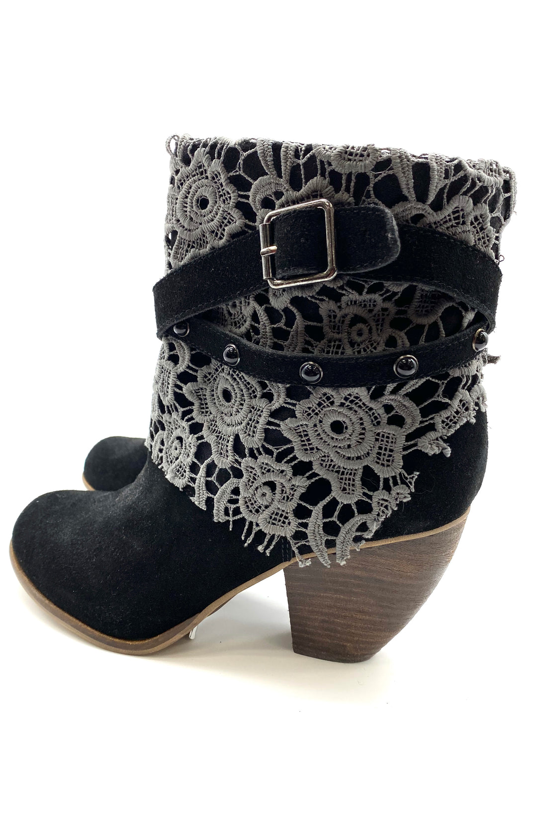 Photo #2 - BRAND: NAUGHTY MONKEY <BR>STYLE: BOOTS ANKLE <BR>COLOR: BLACK <BR>SIZE: 8 <BR>SKU: 262-26275-59177