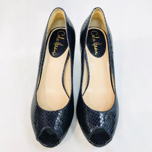 Primary Photo - BRAND: COLE-HAAN STYLE: SHOES LOW HEEL COLOR: NAVY SIZE: 7.5 SKU: 262-26211-126219AS IS