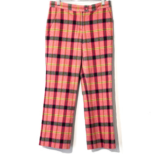 "Primary Photo - BRAND:  MOSCHINO CHEAP AND CHICSTYLE: PANTS COLOR: PLAID SIZE: 6 OTHER INFO: MOSCHINO - SKU: 262-26275-74748WOOL AND COTTON FRONT RISE 8.25""INSEAM 26.5""DESIGNER FINAL"