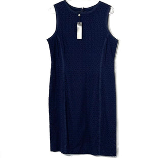 Primary Photo - BRAND: TALBOTS STYLE: DRESS SHORT SLEEVELESS COLOR: NAVY SIZE: M SKU: 262-26275-61515
