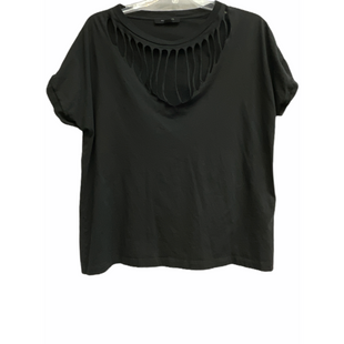 Primary Photo - BRAND: ALL SAINTS STYLE: TOP SHORT SLEEVE COLOR: BLACK SIZE: M SKU: 262-262101-3034100% COTTONDESIGNER FINAL