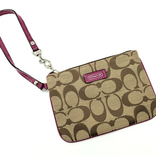 Primary Photo - BRAND: COACH STYLE: WRISTLET COLOR: MONOGRAM SKU: 262-26275-70430AS IS DESIGNER ITEM FINAL SALE