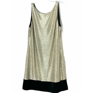 Primary Photo - BRAND: WHITE HOUSE BLACK MARKET STYLE: DRESS SHORT SLEEVELESS COLOR: GOLD SIZE: L SKU: 262-26241-47666