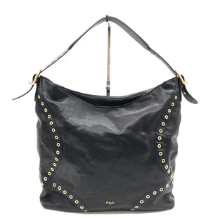 Primary Photo - BRAND: RALPH LAUREN STYLE: HANDBAG COLOR: BLACK SIZE: MEDIUM SKU: 262-26275-74767IN GOOD SHAPE AND CONDITION