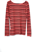 Photo #1 - BRAND: NFL <BR>STYLE: ATHLETIC TOP <BR>COLOR: STRIPES RED <BR>SIZE: M <BR>SKU: 262-26275-70139