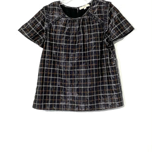 Primary Photo - BRAND: ANN TAYLOR LOFT STYLE: TOP SHORT SLEEVE COLOR: PLAID SHINYSIZE: L OTHER INFO: SKU: 262-26241-44498