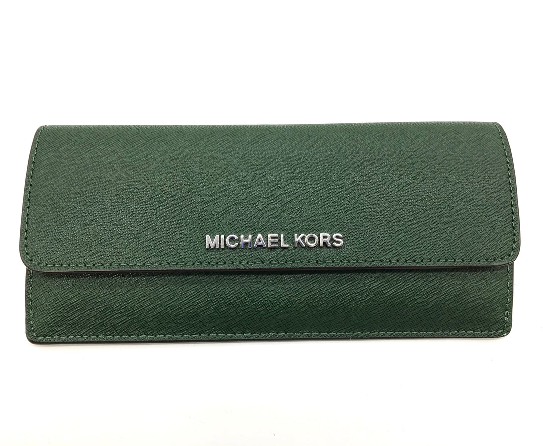 Primary Photo - BRAND: MICHAEL KORS <BR>STYLE: WALLET <BR>COLOR: GREEN <BR>SIZE: MEDIUM <BR>SKU: 262-26241-41573
