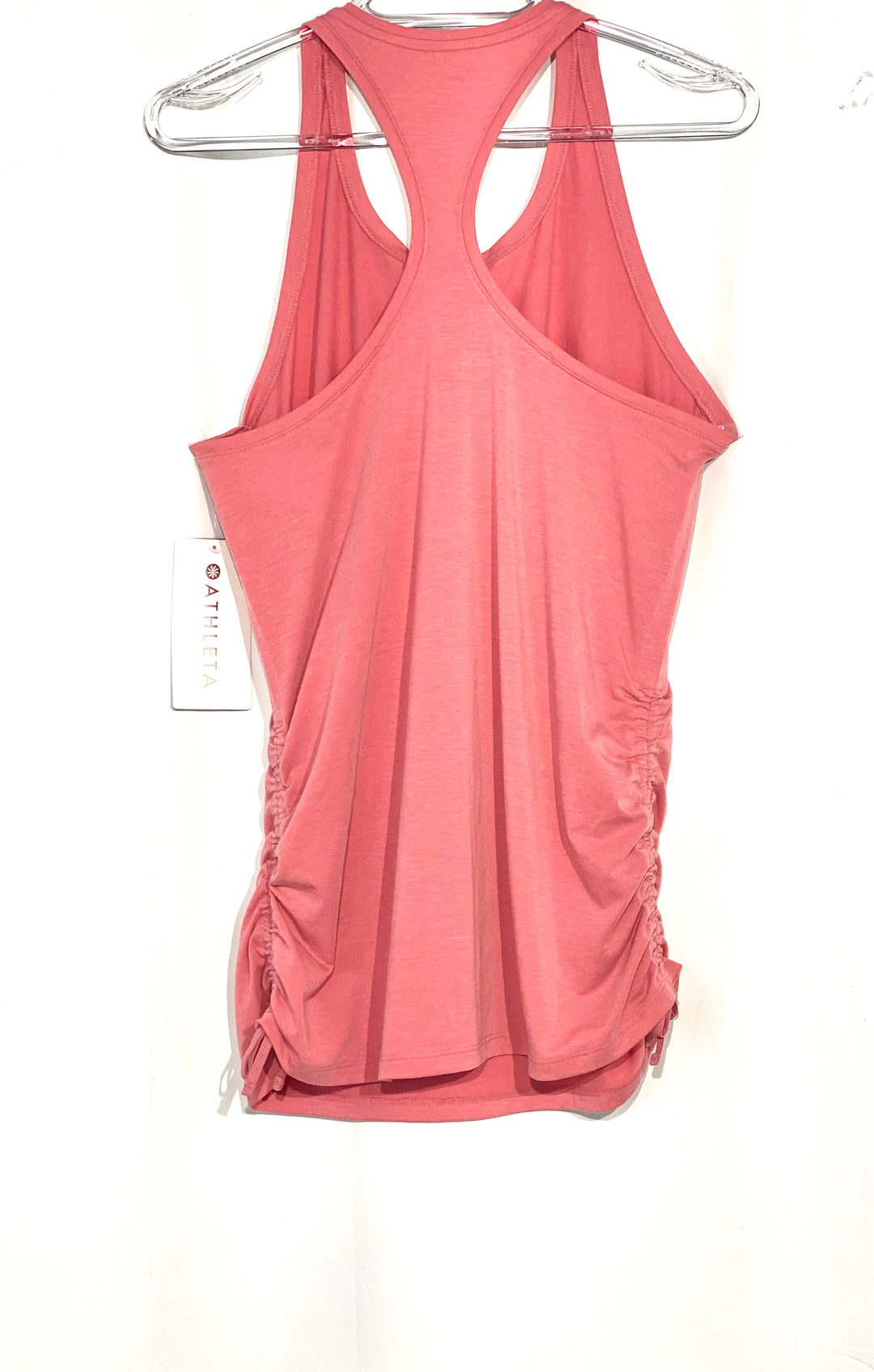 Photo #1 - BRAND: ATHLETA <BR>STYLE: ATHLETIC TANK TOP <BR>COLOR: DUSTY PINK <BR>SIZE: M <BR>SKU: 262-26275-64691