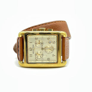 Primary Photo - BRAND: MICHAEL KORS STYLE: WATCH COLOR: LEATHER | GOLDSKU: 262-26211-146075BATTERY NEEDED • GENTLE WEAR • AS IS