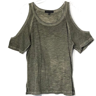 Primary Photo - BRAND: SANCTUARY STYLE: TOP SHORT SLEEVE COLOR: OLIVE SIZE: S SKU: 262-26211-141974
