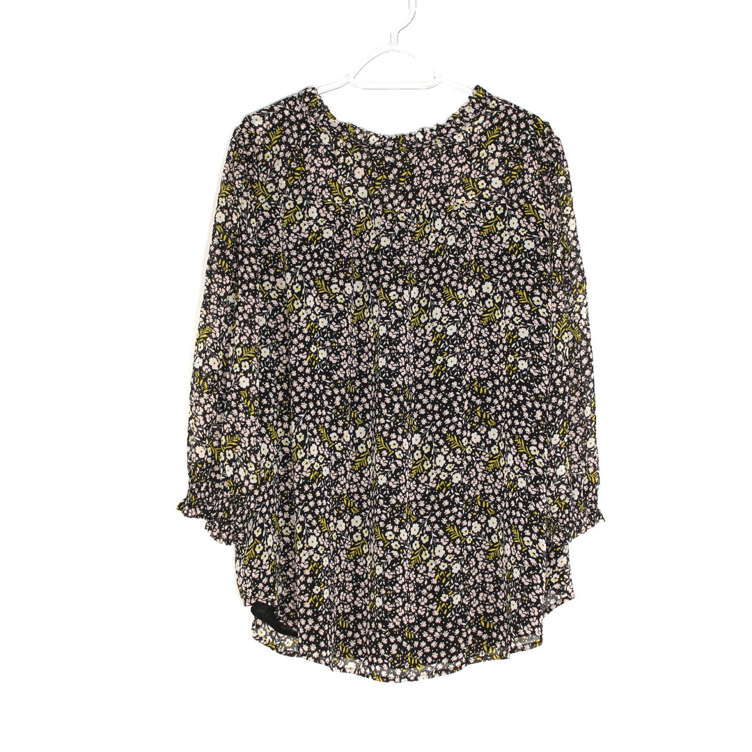 Photo #1 - BRAND: ANN TAYLOR LOFT <BR>STYLE: BLOUSE <BR>COLOR: FLORAL <BR>SIZE: 1X/18<BR>SKU: 262-26285-2537