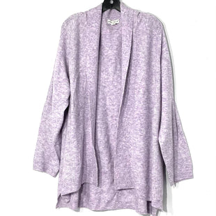 Primary Photo - BRAND: AVA & VIV STYLE: SWEATER CARDIGAN LIGHTWEIGHT COLOR: LILAC SIZE: 2X SKU: 262-26275-774903% SPANDEX
