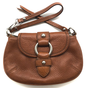 "Primary Photo - BRAND: BANANA REPUBLIC STYLE: WRISTLET COLOR: BROWN SKU: 262-26241-45237APPROX. 8""L X 4.75""H"