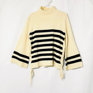 Primary Photo - BRAND: JOIE STYLE: SWEATER LIGHTWEIGHT COLOR: STRIPED SIZE: M SKU: 262-26275-7373370% WOOL 30% CASHMEREDESIGNER FINAL