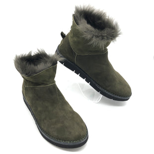 Primary Photo - BRAND:  BOEMOS STYLE: BOOTS ANKLE COLOR: OLIVE SIZE: 13 | 43SKU: 262-26241-44651AS IS