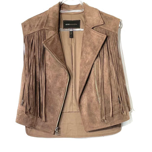 Primary Photo - BRAND: BCBGMAXAZRIA STYLE: VEST COLOR: TANSIZE: S SKU: 262-26275-74903FAUX SUEDE LOOK