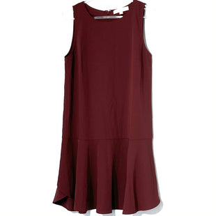 Primary Photo - BRAND: ANN TAYLOR LOFT STYLE: DRESS SHORT SLEEVELESS COLOR: BURGUNDY SIZE: S SKU: 262-26211-142006