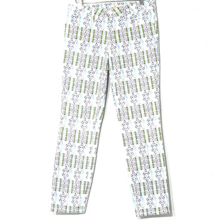 Primary Photo - BRAND: TORY BURCH STYLE: JEANSCOLOR: GEOMETRIC SIZE: 4 /27SKU: 262-26275-77654DESIGNER FINAL