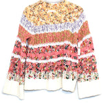 Primary Photo - BRAND: ANTHROPOLOGIE <BR>STYLE: SWEATER LIGHTWEIGHT <BR>COLOR: MULTI <BR>SIZE: S <BR>SKU: 262-26275-64388<BR><BR>COTTON WOOL POLYESTER