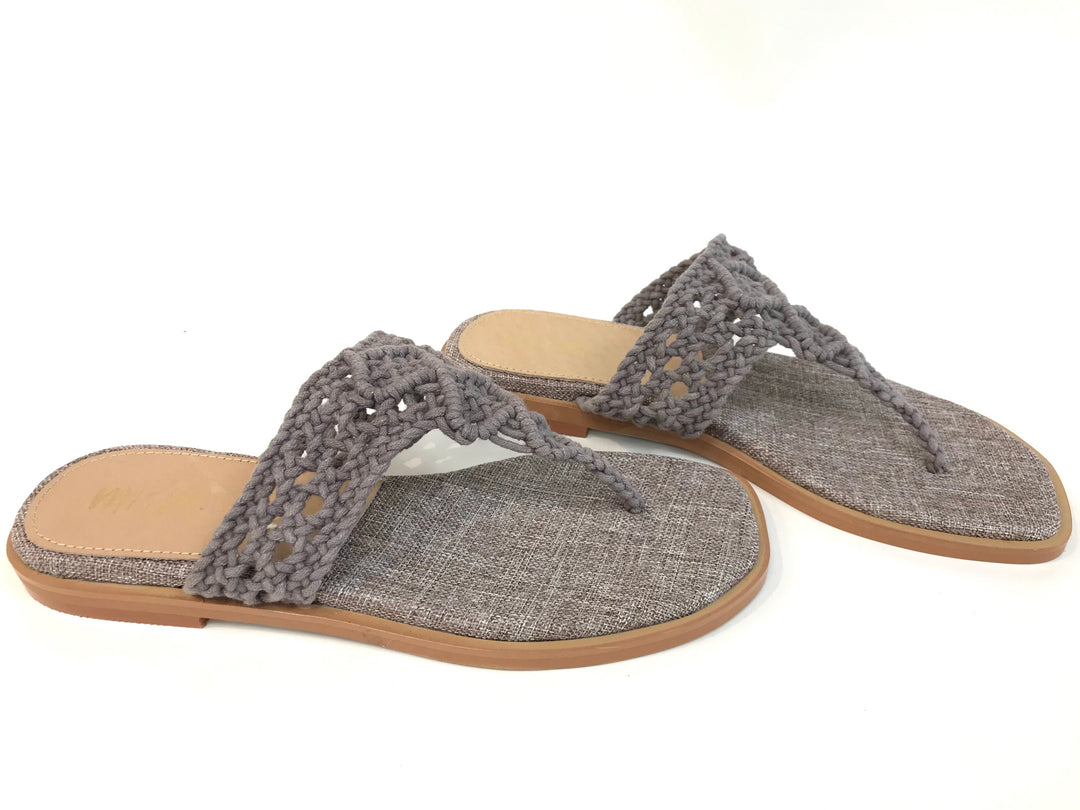 Photo #1 - BRAND: IM <BR>STYLE: FLIP FLOPS <BR>COLOR: TAN <BR>SIZE: 7.5 <BR>SKU: 262-26275-62213<BR>NEW CONDITION- AS IS
