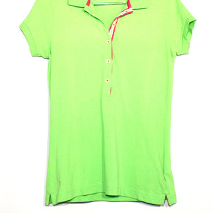 Primary Photo - BRAND: LILLY PULITZER STYLE: TOP SHORT SLEEVE COLOR: LIME GREEN SIZE: S SKU: 262-26211-137517. DESIGNER FINAL.