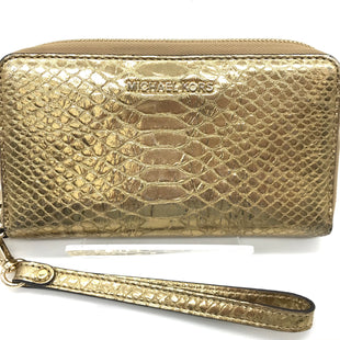 Primary Photo - BRAND: MICHAEL KORS STYLE: WRISTLET COLOR: GOLD SKU: 262-26275-72786AS IS WEAR ON CORNERS