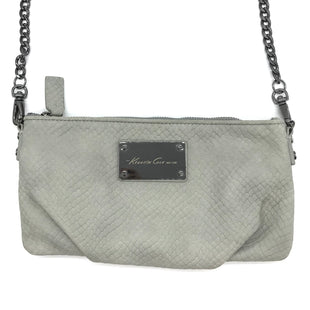 "Primary Photo - BRAND: KENNETH COLE STYLE: WRISTLET COLOR: GREY SKU: 262-26241-44459APPROX. 9.25""L X 4.5""H"