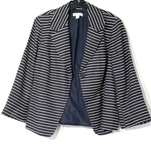 Primary Photo - BRAND: COLDWATER CREEK O STYLE: BLAZER JACKET COLOR: STRIPED SIZE: 1X SKU: 262-26275-76030