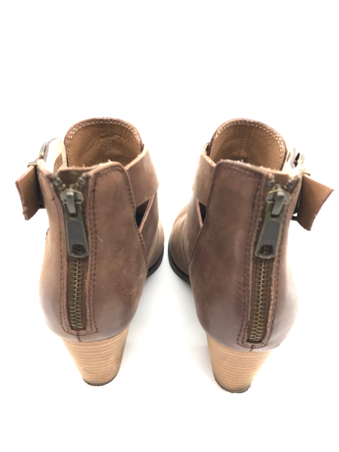 Photo #2 - BRAND: VINCE <BR>STYLE: BOOTS ANKLE <BR>COLOR: TAN <BR>SIZE: 9 <BR>SKU: 262-262101-537<BR>AS IS