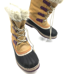 Primary Photo - BRAND: SOREL STYLE: BOOTS ANKLE COLOR: TAN SIZE: 7 SKU: 262-26275-68500WEAR SHOWS - AS IS