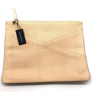 Primary Photo - BRAND: BANANA REPUBLIC STYLE: CLUTCH SKU: 262-26241-45238GENTLE SPOTS/COLOR RUBBING ON ONE SIDE BUT OTHERWISE APPEARS TO BE NEVER USED