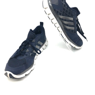 Primary Photo - BRAND: ADIDAS STYLE: SHOES ATHLETIC COLOR: BLUE SIZE: 6 SKU: 262-26241-43033SOME SLIGHT SIGNS OF WEAR TO THE BOTTOM