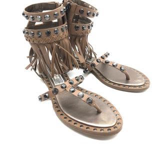 Primary Photo - BRAND: IVY KIRZHNERSTYLE: SANDALS FLAT COLOR: TRUFFLESIZE: 6.5 SKU: 262-26275-68961AS IS